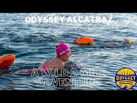 Alcatraz Swim, San Francisco, California with Odyssey Open Water Swimming