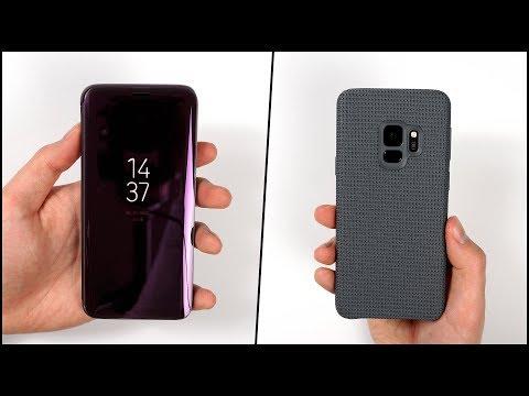 Die besten Cases für das Galaxy S9 & S9+? - Samsung Hyperknit & Clear View Standing Cover | SwagTab