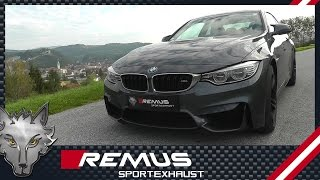 Video: Remus Racinganlage für BMW 4er M4 F83 F83