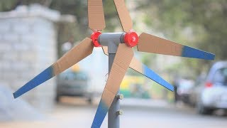How to make a Generator - wind Generator