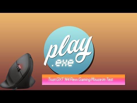 Eine vertikale Maus zum zocken? Trust GXT 144 Rexx Gaming-Maus im Test
