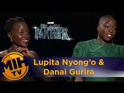 Lupita Nyong'o and Danai Gurira: Black Panther interview