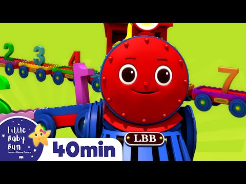 Learning Numbers With Trains - Little Baby Bum | Nursery Rhymes and Kids Songs | Baby Songs | LBB