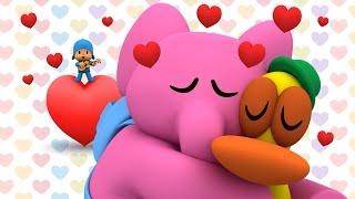 valentines day with pocoyo romantic views - Valentines Day Videos