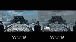 Skyrim Race Speed Comparison