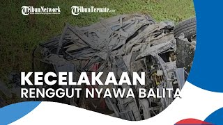 Minibus Ditumpangi Satu Keluarga Alami Kecalakaan, Renggut Nyawa Balita