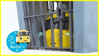 Buster Goes To Jail!! | GoBuster Official | Nursery Rhymes | Songs for Kids | Single Episode