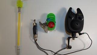 Как самому сделать электронные сигнализаторы поклевки