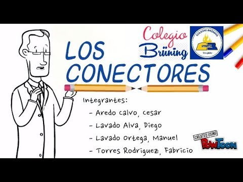 Los conectores - videos educativos