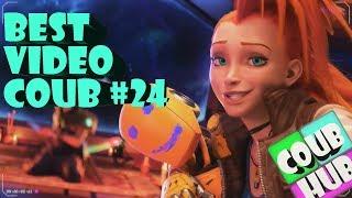 Смешные видео приколы COUB BEST # 24 | Коуб | Cube | Сентябрь 2018 |  Животные Game Wins - CoubHUB