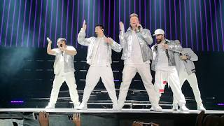 Backstreet Boys   Don't Go Breaking My Heart + Larger Than Life   DNA World Tour Paris  2019