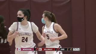Highlights: Killingly 41, Windham 29 in ECC North girls basketball final