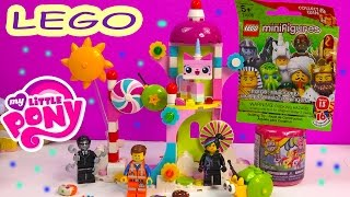 MLP The LEGO Movie Cloud Cuckoo Palace Unikitty My Little Pony Fash'ems Blind Bag Surprise Opening