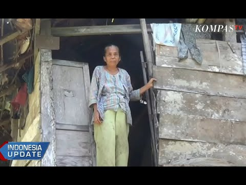 Miris, Nenek Sebatang Kara Tinggal di Rumah Hampir Roboh