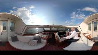 Linssen Yachts Grand Sturdy 450 AC Variotop® Canvas And Arch.