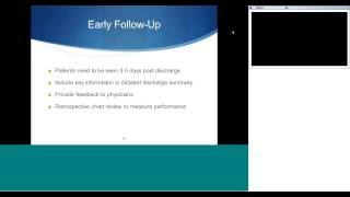 Webinar #4: Reducing Readmissions