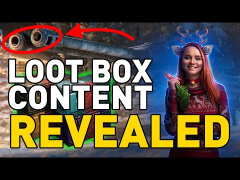LOOT BOX CONTENT REVEALED in World of Tanks