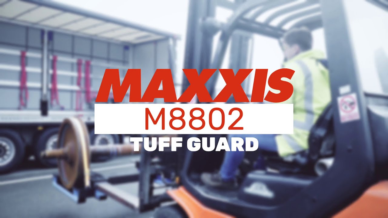 Maxxis M8802 Tuff Guard Forklift Tyres