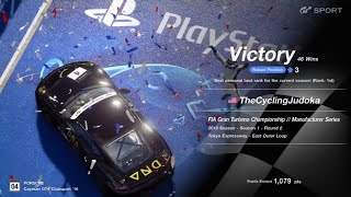GT Sport - FIA Championships Round 2 [INCREDIBLE WIN BY 0.024]