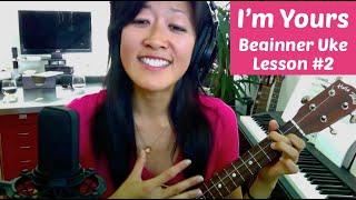 I'm Yours | Beginner Ukulele Lesson #2: Backbeat Strum