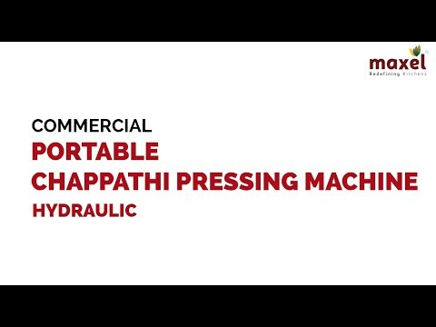 LEP988 Commercial Portable Hydraulic Chapati Pressing Machine