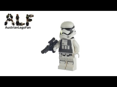 Vidéo LEGO Star Wars 30602 : Stormtrooper du Premier Ordre (Polybag)