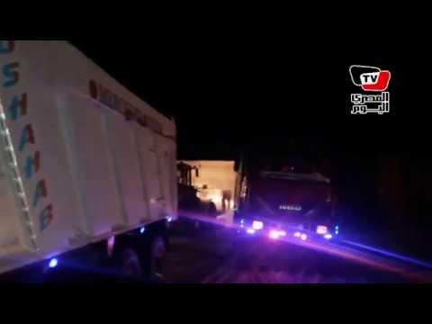 فيديو حصري.. أول ليلة حفر لقناة السويس الجديدة