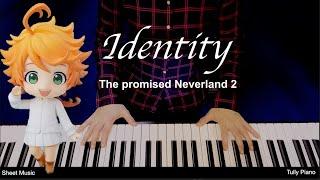 약속의 네버랜드 시즌2 OP : Identity (정체)