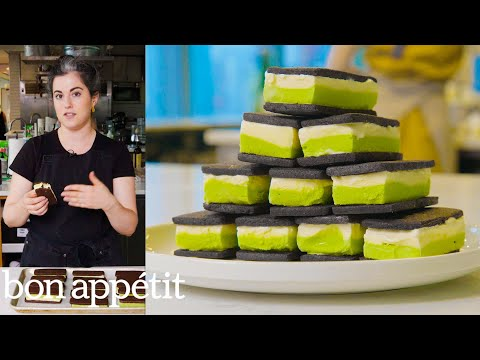Claire Makes Homemade Ice Cream Sandwiches | From the Test Kitchen