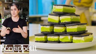 Claire Makes Homemade Ice Cream Sandwiches | From the Test Kitchen | Bon Appétit