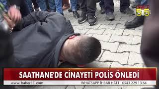 BOĞAZINA BIÇAK DAYADILAR, POLİS SAYESİNDE KURTULDU!