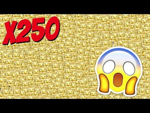 OPENING 250 OF THE NEW GOLDEN PUMPKINS!!
