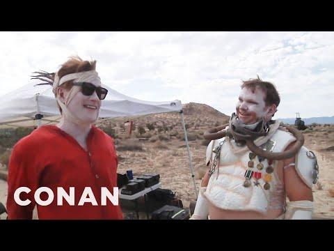 Jak se točila Conanova cesta na Comic-Con
