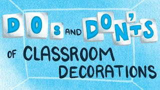 5 Tips For Decorating Your Classroom