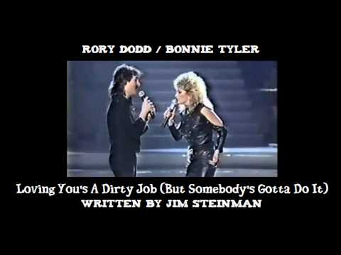 Rory Dodd & Bonnie Tyler - Loving You's a Dirty Job (Demo)