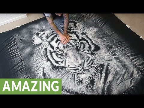 Incredible pictures made with only 1 ingredient