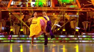 Susanna Reid & Kevin American Smooth to 'Sunny Side Of The Street' - Strictly Come Dancing - BBC One