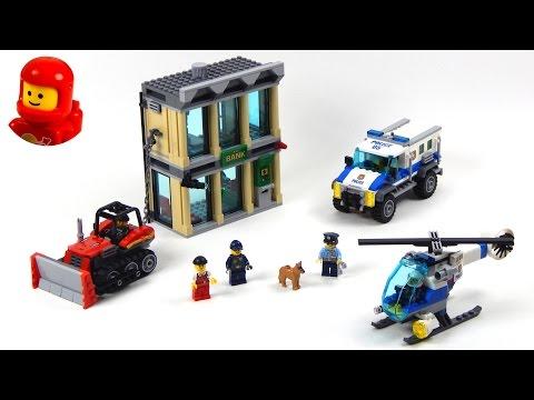 Vidéo LEGO City 60140 : Le cambriolage de la banque