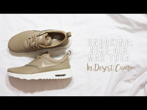 UNBOXING: Nike Air Max Thea in Desert Camo