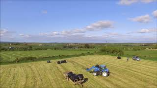 Drawing Bales With A View 2018 (DRONE)
