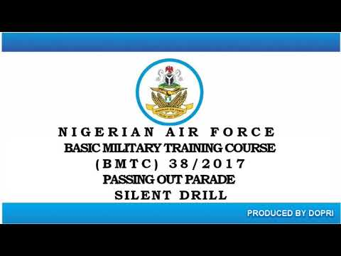 VIDEO CLIP OF SILENT DRILL BY GRADUATING RECRUITS OF BASIC MILITARY TRAINING COURSE 38/2017