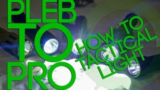 **EPILEPSY WARNING** Pleb to Pro: How to Airsoft Tactical Light