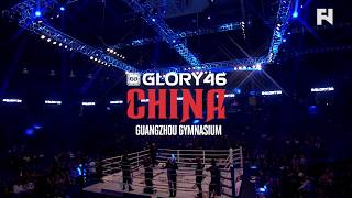 GLORY 46 China LIVE Sat., Oct. 14 at 8 a.m. ET in Canada on Fight Network