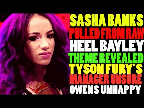 Bayley Heel Turn Entrance (Theme) Revealed! Sasha Banks Pulled Out From RAW! Wrestling News!