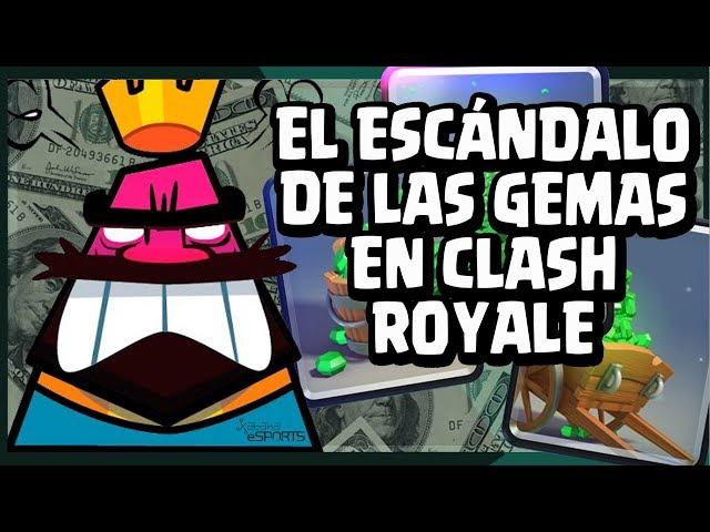 El escándalo de las gemas ilegales en Clash Royale del que no se salvan ni los pros