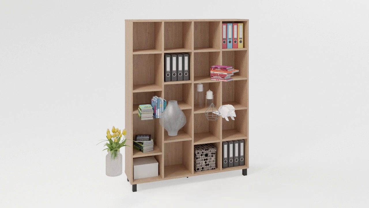 Simple Wide Bookcase