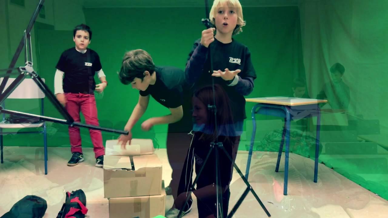 Montando el set de los Kids in Black