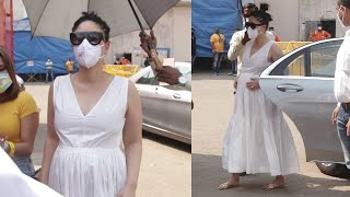 9 months Pregnent Strong Kareena Kapoor Still Continue To