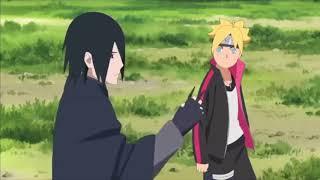 Boruto Episode 2: Sasuke TRAINS Boruto To Use RASENGAN (boruto Invisible Rasengan..)