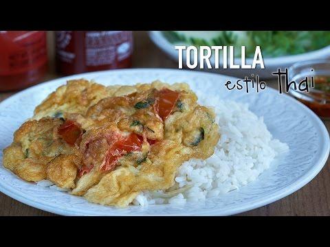 Tortilla estilo Thai - Easy Thai Omelette Recipe